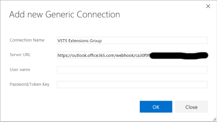 connector webhook service endpoint